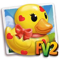 Rubber Love Ducky