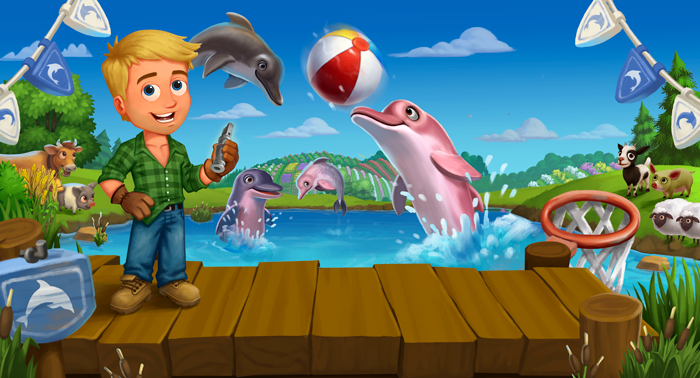 Farmville 2 Dolphin