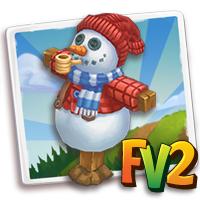 Snowman Scarecrow